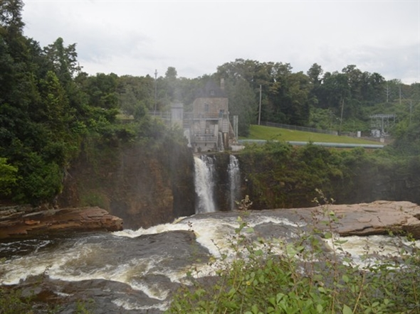 The weather can change Ausable Chasm very quickly from calm to raging. Its beauty is stunning.