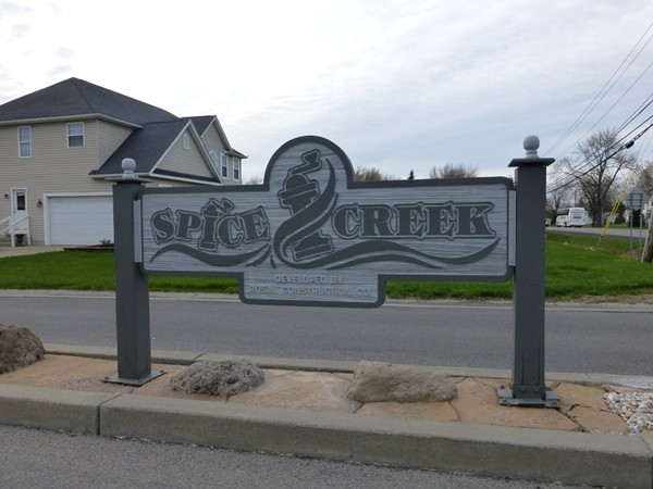Spice Creek Subdivision. Custom built homes by Rosal Builders