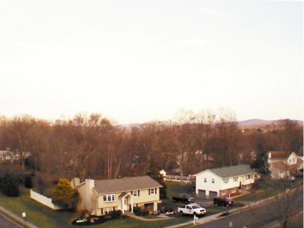 Aerial view of Fredrick Drive in Monroe