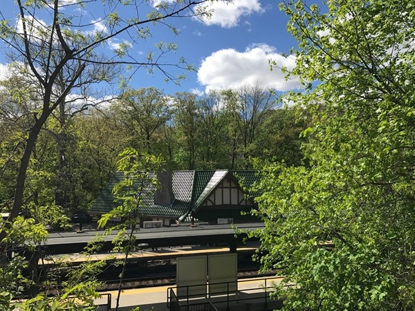 Scarsdale Train Station makes commuting easy