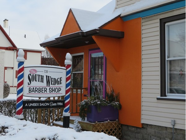 What neighborhood would be complete without a barber shop
