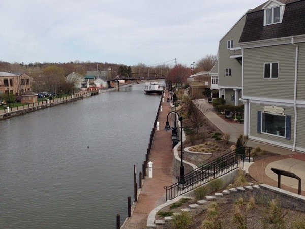 Erie Canal in the Village of Fairport