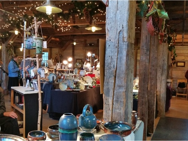 Pottery Sale at the Barn