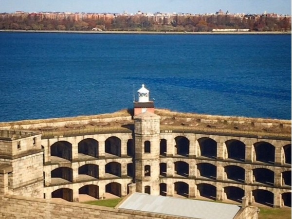 View of historic Fort Wadsworth