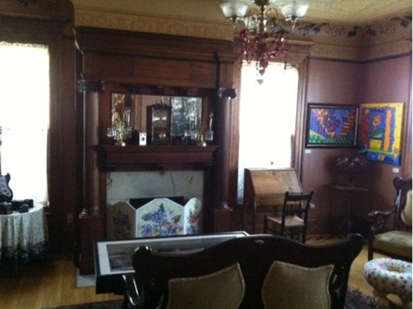 Greeting room at the Senator's Mansion