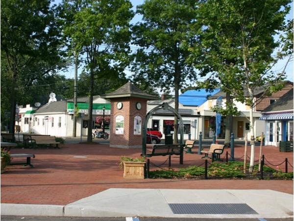 Russ Savatt Park on Main Street