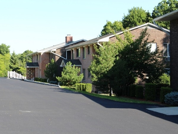 Another view of Barnett Hills in Monroe. Garden apartment-style condominiums