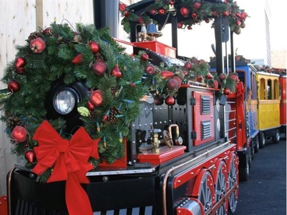 Bayville Winter Wonderland train ride