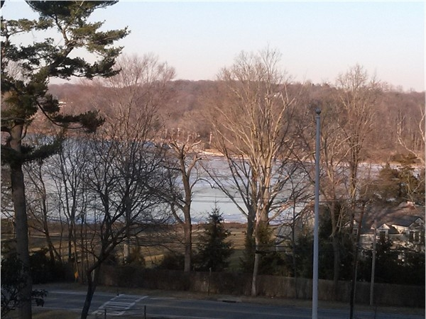 A view of his beloved Oyster Bay from President Roosevelt's grave