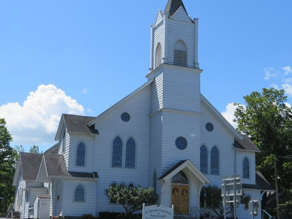 Saint Marianne Cope Parish at Saint Joseph's in the hamlet of Rush founded in 1864
