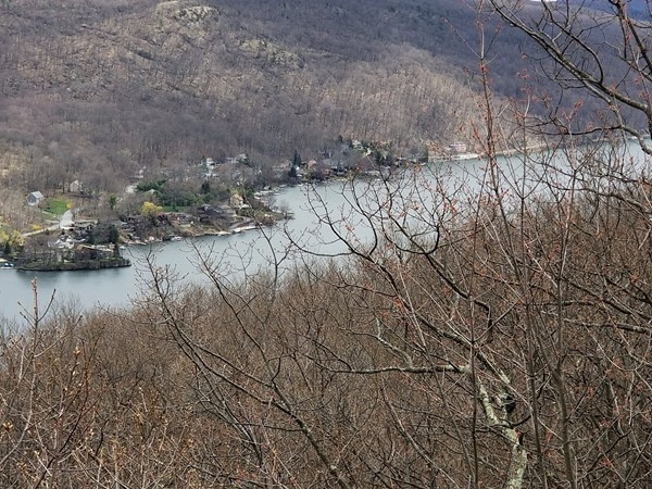 View of Greenwood Lake from the Apalachian Trail