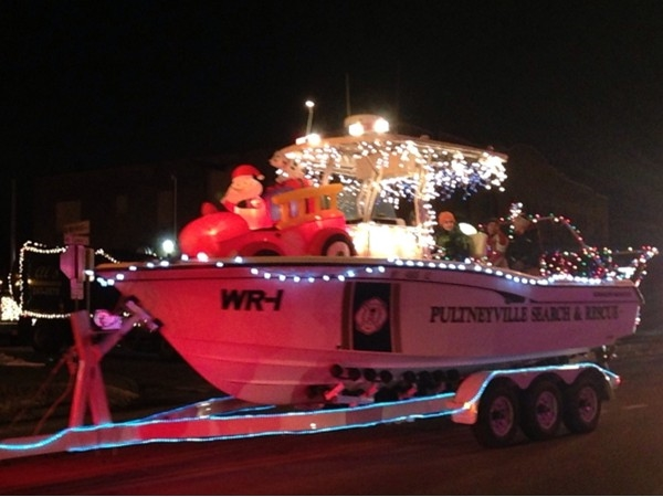 Pultneyville Search and Rescue at Seabreeze Winter Parade