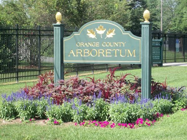 Gardners' Arboretum in Hamptonburgh