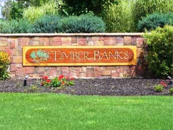 The attractive entrance to Timber Banks