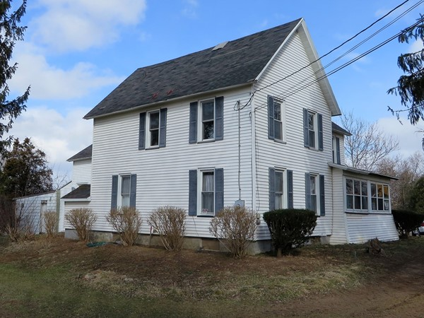 Farmhouse built in 1900 on this 59 acre property on Route 96