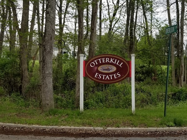 The entrance to Otterkill Estates is off of Twin Arch Road