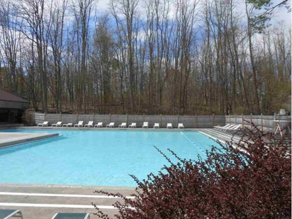 Huge refreshing pool for Point of Woods residents