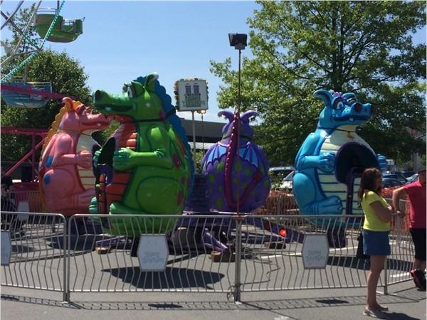 Carnival at Home Depot in Harriman