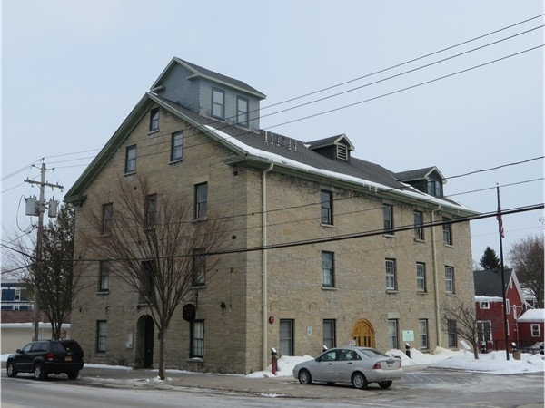 The Mill in Honeoye Falls located next to the falls and once used as a grist mill