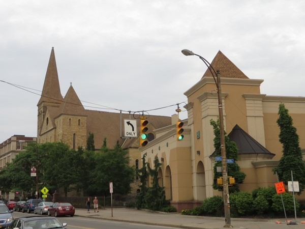 Large downtown church on East Avenue, Bethel Christian Fellowship