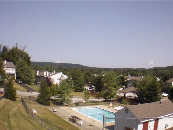 A view of the pool in Pine Ridge Pool
