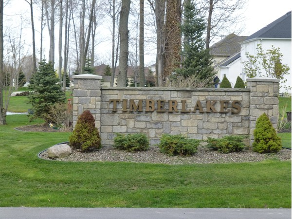 Timberlakes Subdivision  in Wheatfield
