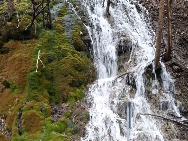April showers bring more waterfalls to Marcellus along Nine Mile Creek