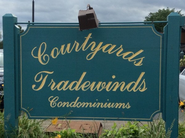 Courtyards and Tradewinds Condominiums are located off Maple Road near North Forest