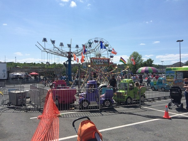 The carnival is in town