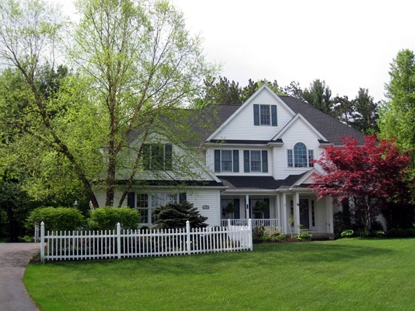 A beautiful colonial on two plus acres on a cul de sac location in Orchard Park, NY