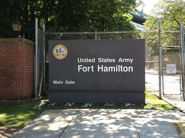 Our famous Fort Hamilton Army Base