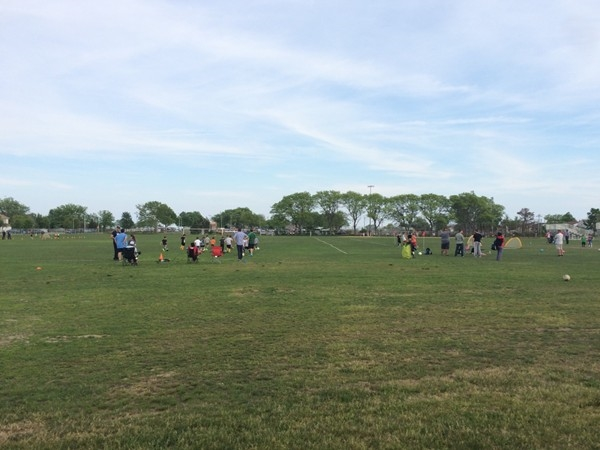 Soccer practice time at Oceanside Middle School and Park