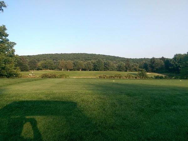 James Baird State Park.  Fifth hole par 5