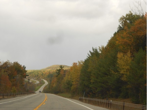 Fall is a local favorite time to take a drive through the Adirondacks