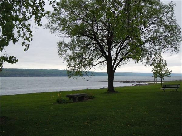 Cayuga Lake from Myers Park