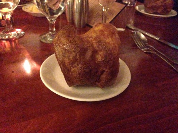 Do you know what a popover is? Ever have one? Dine at Linklaen House for an endless supply