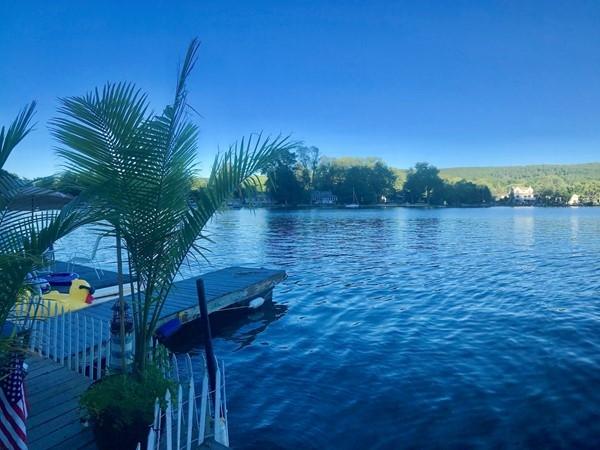 Peaceful day on Greenwood Lake