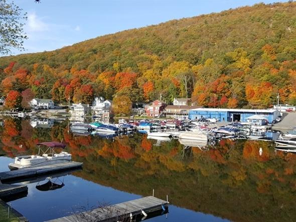 Beautiful Greenwood Lake, NY.  Isn't it stunning?