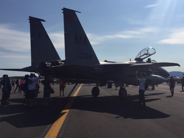 F18 Super Hornet at NY Air Show 2015, Stewart Airport