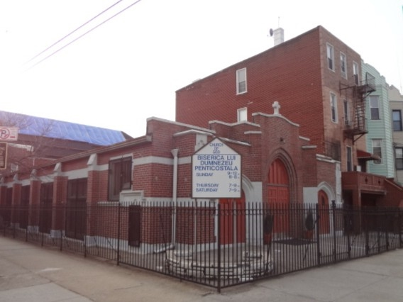 Front view of the Armenian Church Of God