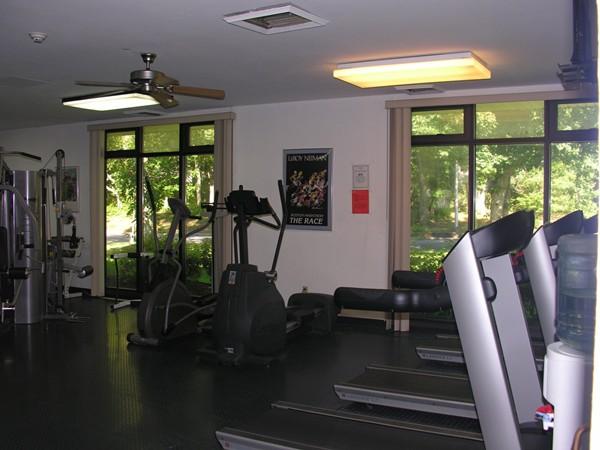A nice gym at Blue Ridge