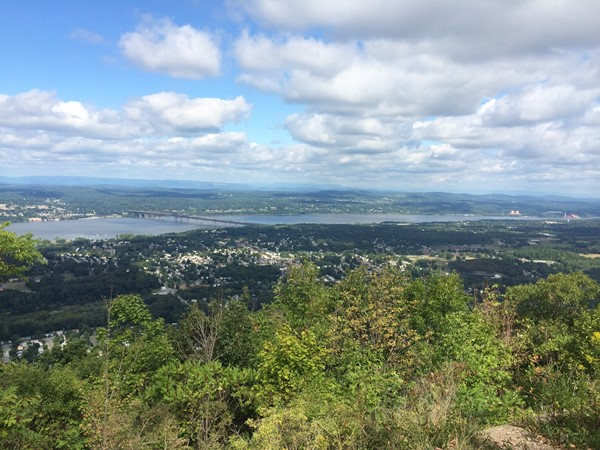 Morning views from Mount Beacon