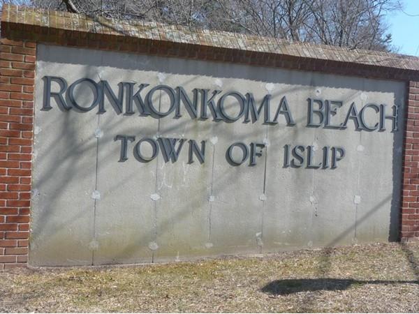 Entrance to Ronkonkoma Beach