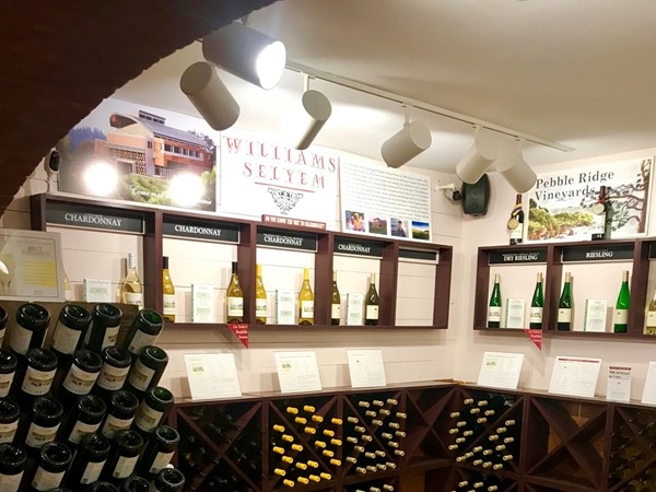 Wine, wine and more wine. Great selection at the Millbrook Winery