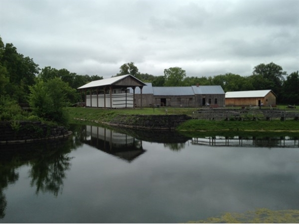 Canal boat at the Canal Museum in Chittenango