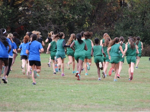 Modified girls Cross Country final meet at home