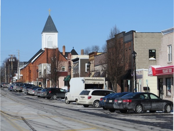Commercial Street in East Rochester