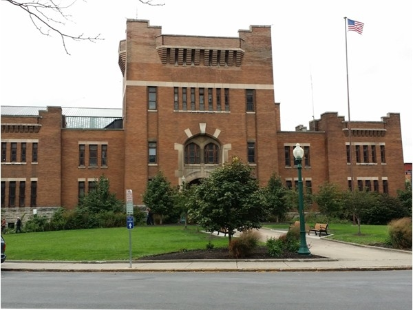 The Armory, now home of The Most (Museum of Science and Technology)