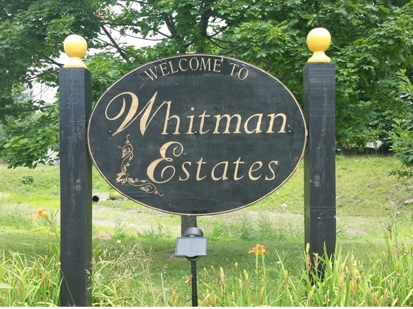 Whitman Estates. A lovely sidewalk lined development. Great yearly block party..