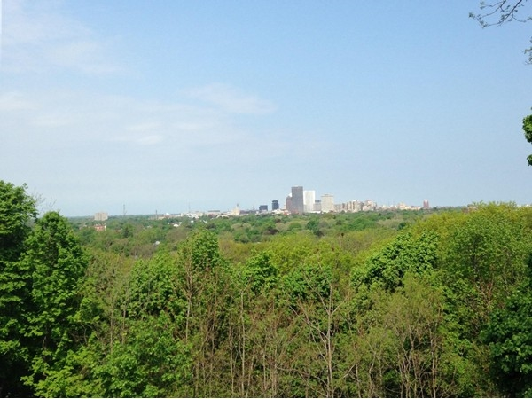 Cobbs Hill Park has some of the best views in all of Rochester